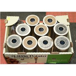 LOT OF AIR FILTERS DONALDSON P550132, FRAM