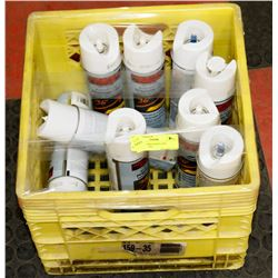 10 CANS OF PRECISION LINE MARKING PAINT