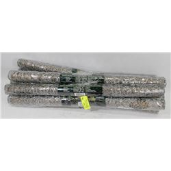 LOT WITH NEW ROLLS OF GALVANIZED CHICKEN WIRE