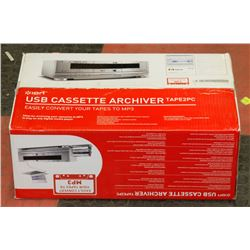 ION USB CASSETTE ARCHIVER TAPE 2PC SYSTEM.
