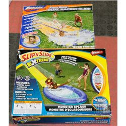 SET OF 2 NEW SLIP N SLIDES 1 EXTREME