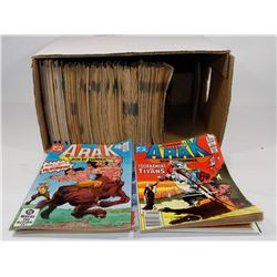 BOX OF VINTAGE COMICS