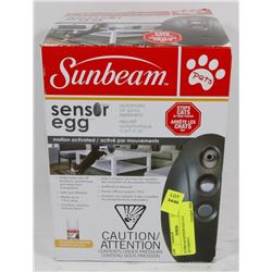 SUNBEAM SENSOR EGG CAT DETERRENT.