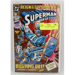 3 PACK OF SUPERMAN COMICS