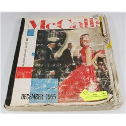 MCCALLS DECEMBER 1955 CATALOG