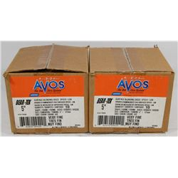 "2 BOXES OF AVOS 5"" BEAR TEX."