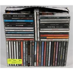 LOT OF 50 CDS INCLUDING TERRI CLARK, BACKSTREET