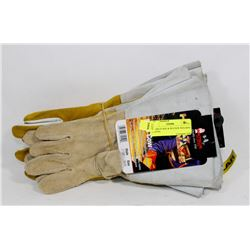 4 PAIRS IF BDG & WATSON WELDING GLOVES