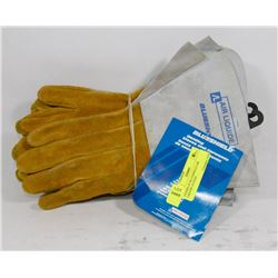 4 PAIRS OF BLUESHIELD AIR LIQUIDE GLOVES