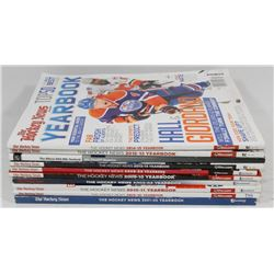 10 HOCKEY NEWS YEARBOOKS MAGAZINES