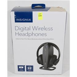 NEW INSIGNIA WIRELESS TV HEADSET