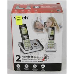 VTECH 2 HANDSET CORDLESS DIGITAL ANSWERING