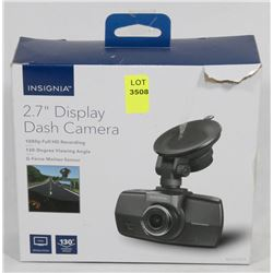 NEW INSIGNIA FULL HD 1080P DASH CAM