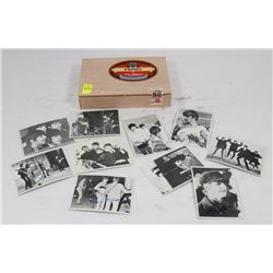 CIGAR BOX FILLED WITH TWELVE SIGNED 1964 TOPPS