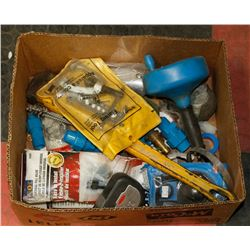 LOT OF PLUMBING TOOLS & SUPPLIES