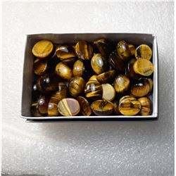 2)  LOT OF 46 GRAMS OF POLISHED TIGER'S