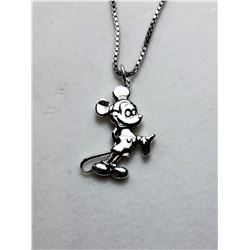 11)  STERLING SILVER MICKEY MOUSE