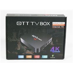 NEW 4K OTT ANDROID TV BOX MULTIMEDIA GATEWAY
