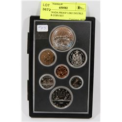 1980 CANADA PROOF LIKE DOUBLE DOLLAR COIN SET