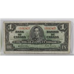 1937 GORDON/TOWERS $1 BILL