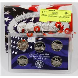 2006 USA PROOF MINT QUARTER SET