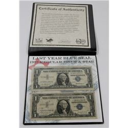 SILVER CERTIFICATE COLLECTION