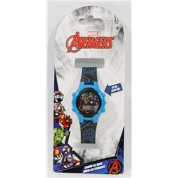 NEW MARVEL AVENGERS FLASHING WATCH