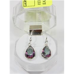#33- RAINBOW MYSTIC DANGLING EARRINGS
