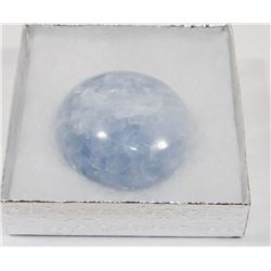 #63-BLUE CALCITE HEALING CRYSTAL ROCK
