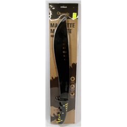 NEW! 21  MACHETE WITH NYLON SHEATH
