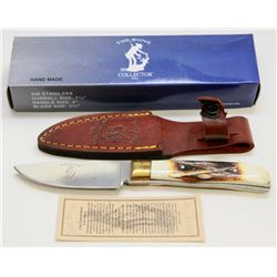 "NEW! THE BONE COLLECTOR 7½"" HUNTING KNIFE"