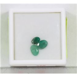 GENUINE EMERALD (APP 2CT) GEMSTONES