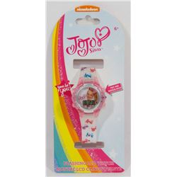 NEW JOJO FLASHING LCD WATCH