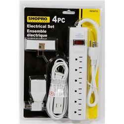 NEW! 4PC ELECTRICAL SET