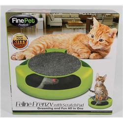 NEW! FELINE FRENZY WITH SCRATCH PAD