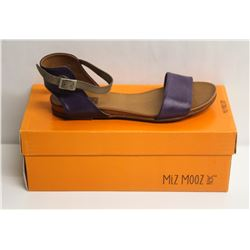 MIZ MOOZ NYC SZ 9 PURPLE ALANIS SANDALS