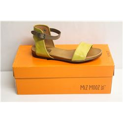 MIZ MOOZ NYC SZ 6 YELLOW ALANIS SANDALS
