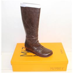 MIZ MOOZ NYC SZ 9 BROWN BERDINE LEATHER BOOTS