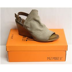 MIZ MOOZ NYC SZ 9.5 PEBBLE KONA LEATHER