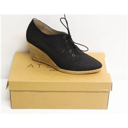 ATELIERS SZ 8.5 TRAVIS NEGRO-LINO WEDGE