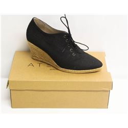 ATELIERS SZ 9 TRAVIS NEGRO-LINO WEDGE