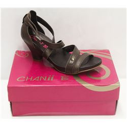 CHANII B SZ 8.5 BROWN NATURAL PREMIERE JE LOW HEEL