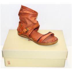 A.S. 98 SZ 7.5 TUSCANY BENSON ANKLE STRAP SANDALS