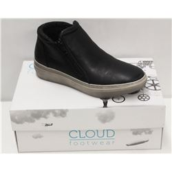 CLOUD SZ 6.5 BLACK QUPID WOOL LINED SNEAKER