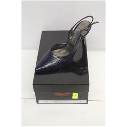 LAURA FERRI SZ 6 BLUE SLINGBACK STILETTO