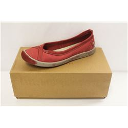 SOFTINOS SZ 6 ILMA WASHED RED SLIP ONS