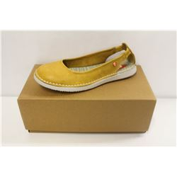 SOFTINOS SZ 6 WASHED LIGHT YELLOW FLATS