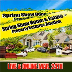 SIGN IN EARLY FOR THE SUNDAY MARCH 24th AUCTION!