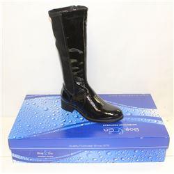 BOS & CO SZ 8.5 BLACK BROOK BOOTS