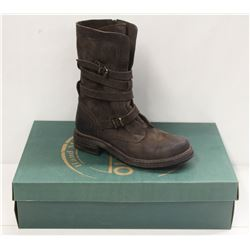 BUENO SZ 8.5 BROWN EAGLE GEMMA BOOTS